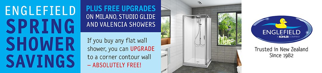 Englefield Shower Upgrade Promotion