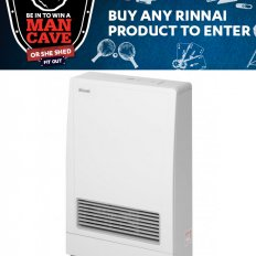 Rinnai Energysaver 309FT Gas Heater PROMOTION