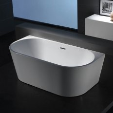 Progetto Tondo Back to Wall Freestanding Bath 1700mm ON SALE