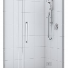 Acclaim Tile Shower 2 Sided with Centre Waste - Chrome