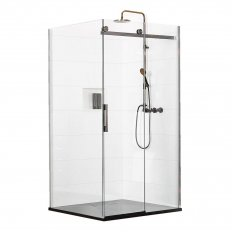 Ebony & Ivory Rhythm 2 Wall Shower 1400 x 1000