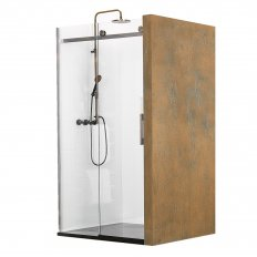Ebony & Ivory Hymn 3 Wall Shower 1200 x 1000