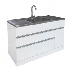 Vaskeri 1200 Laundry Tub 2 Drawer/1 Door