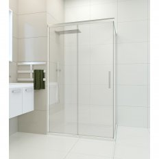 Ava Sliding Door Shower - Channel Waste