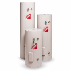 Enamel Mains Pressure Indoor/Outdoor Hot Water Cylinder GE 180L