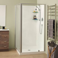 Sierra Showers Flat Wall - Satin