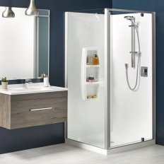 Sierra Showers Moulded Wall - Satin