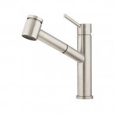 Stainless Pullout Multi-Function Sink Mixer