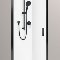 Valencia Elite Alcove Pivot Shower, Acrylic - 1000 x 1000mm