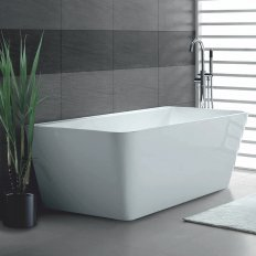 Aria BTW Rectangular Freestanding Bath 1500