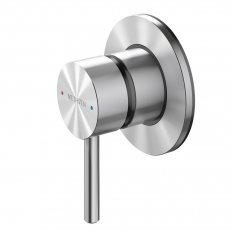 Turoa Shower Mixer - Stainless Steel