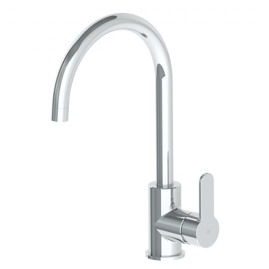 Astro Gooseneck Sink Mixer - Chrome