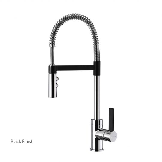 Gaston Spring Pull Down Twin Function Sink Mixers
