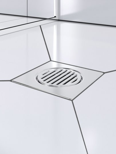 Acclaim Tile Showers Chrome - Centre Waste