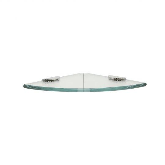 round toughened glass corner shelf - Glass Corner Shelves