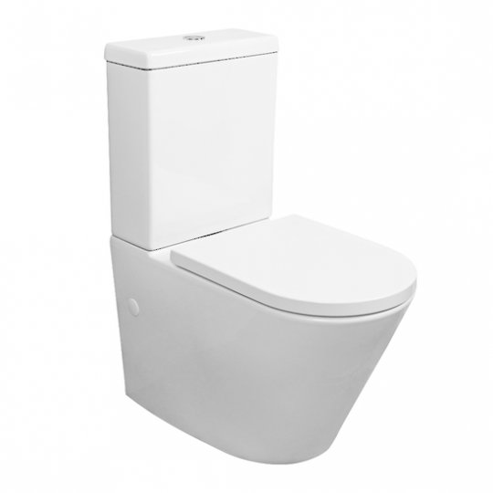 Evora Back to Wall Toilet Suite