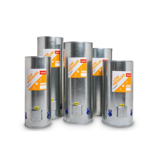 Rinnai Copper Low Pressure Indoor Hot Water Cylinders