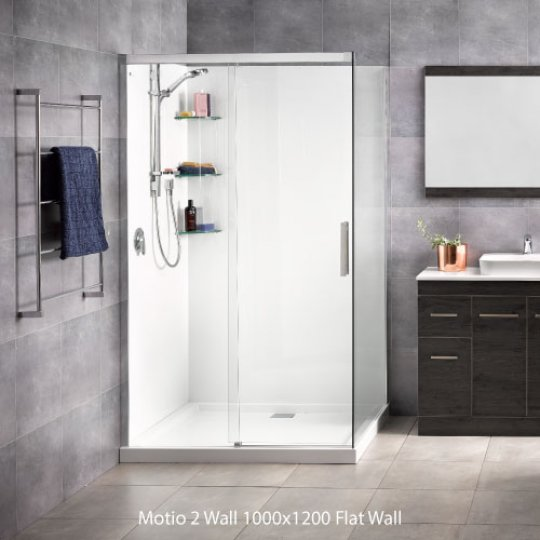 Motio Flat Wall Showers