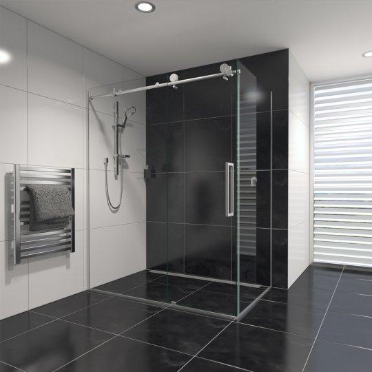 Ravello Tile Showers Chrome