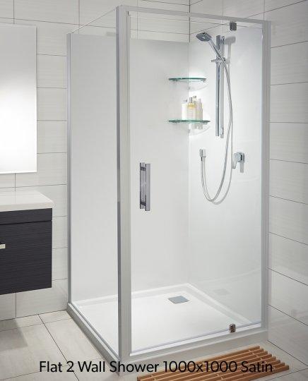 Soul Acrylic Flat Wall Showers