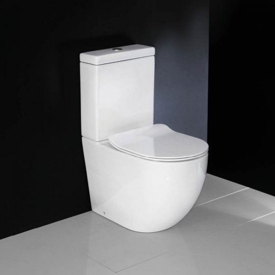 Progetto Zen Back to Wall Toilet Suite Slim Seat
