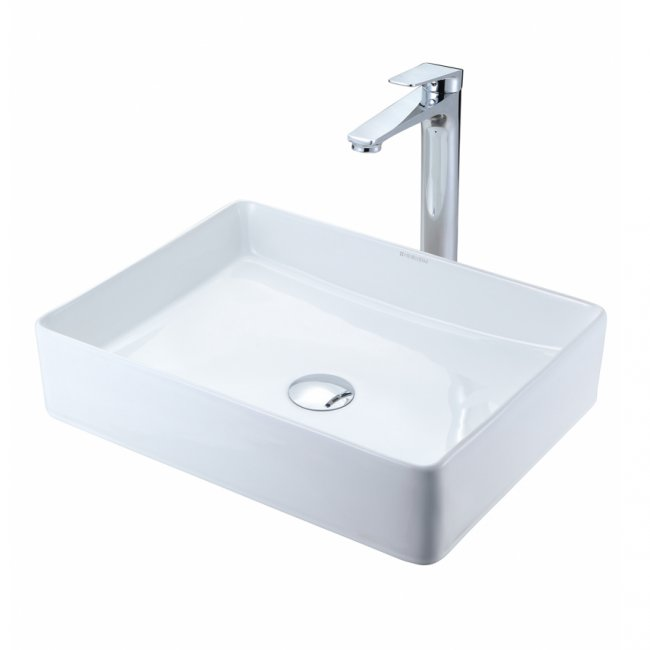 Stadium 470 Countertop Basin (Matt White)