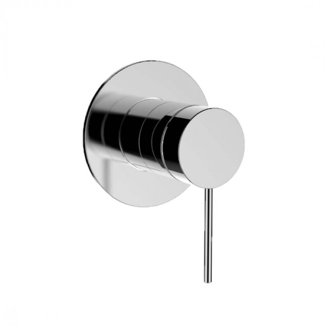 Kohler Components Shower/Bath Mixer, Thin Trim, Pin Lever Handle - Chrome