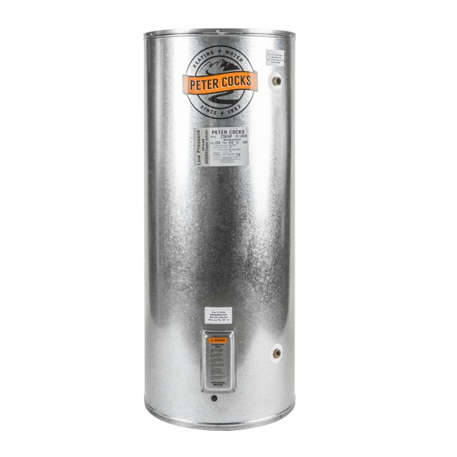 270L Mains Jumbo Wetback with Mains coil 610w x 1490h