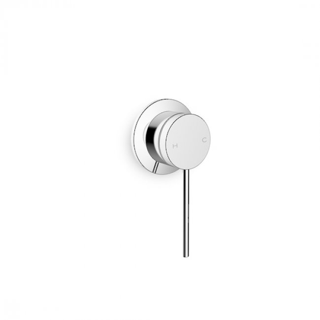 Components Wall Mount Single Handle, Pin Lever - Chrome