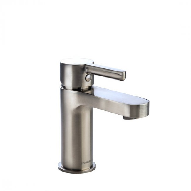 Studio Basin Mixer Pin Lever Brush Nickel