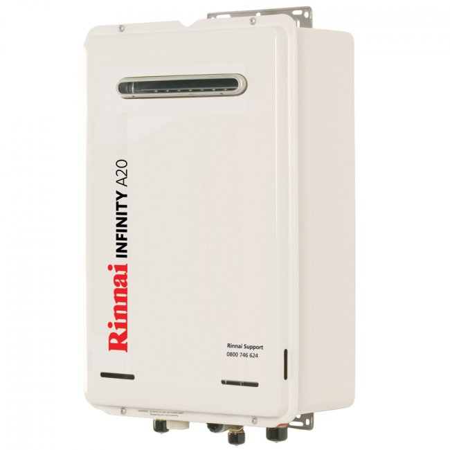 Infinity 174 A20 20l External Gas Continuous Flow Water Heater
