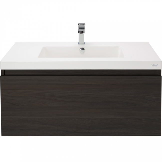 Valencia Single Drawer Wall-hung Vanity 900mm