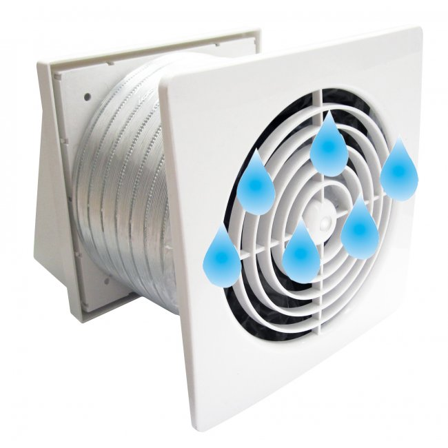 Pro-Series Thru Wall Fan Kits SELV