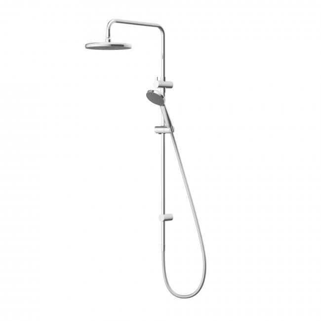 Kiri MKII Satinjet Twin Shower