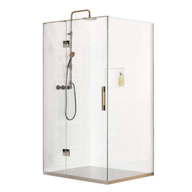 Linea Quattro Oxford 2 Wall Shower 1400 x 800