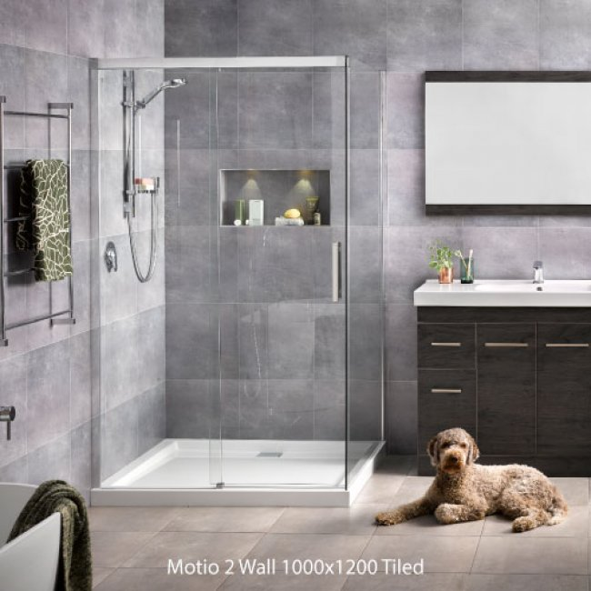 Motio Tiled Wall Showers