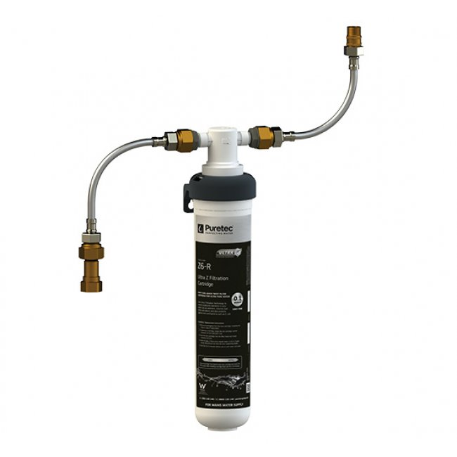 Z6 High Flow Inline Undersink Filter System for Mains Water