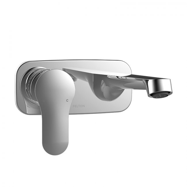 Slique Wall Mounted Bath Basin Mixer