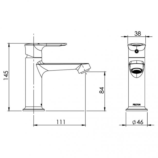 Slique Basin Mixer
