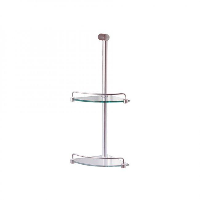Shower Caddy 2 Tier Chrome