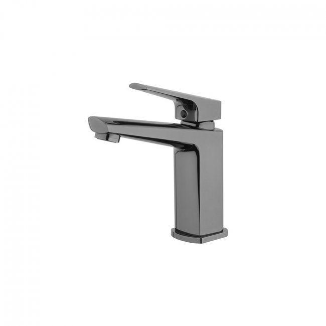Eclipse Basin Mixer - Mirrored Black