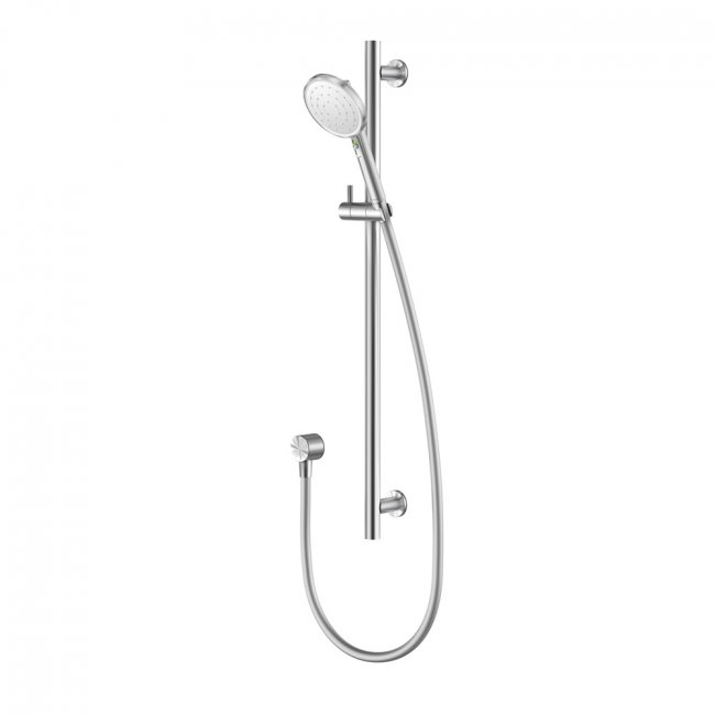 Vjet Turoa Rail Shower - White with Stainless Steel