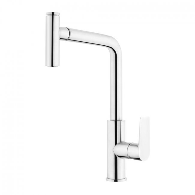 Olympia High Rise Pullout Sink Mixer - Chrome