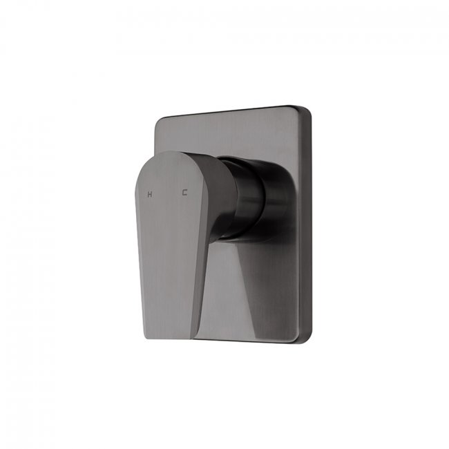 Olympia Vortex Shower Mixer - Brushed Gunmetal