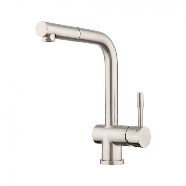 Stainless Pullout High Rise Sink Mixer