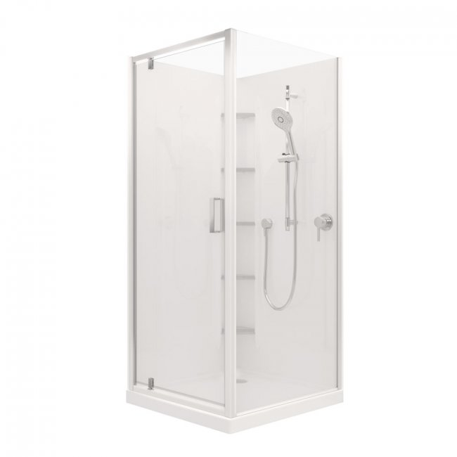 Valencia Elite Square Corner Acrylic Shower 900X900