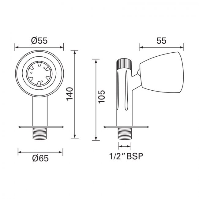 Designer Variable Shower Head