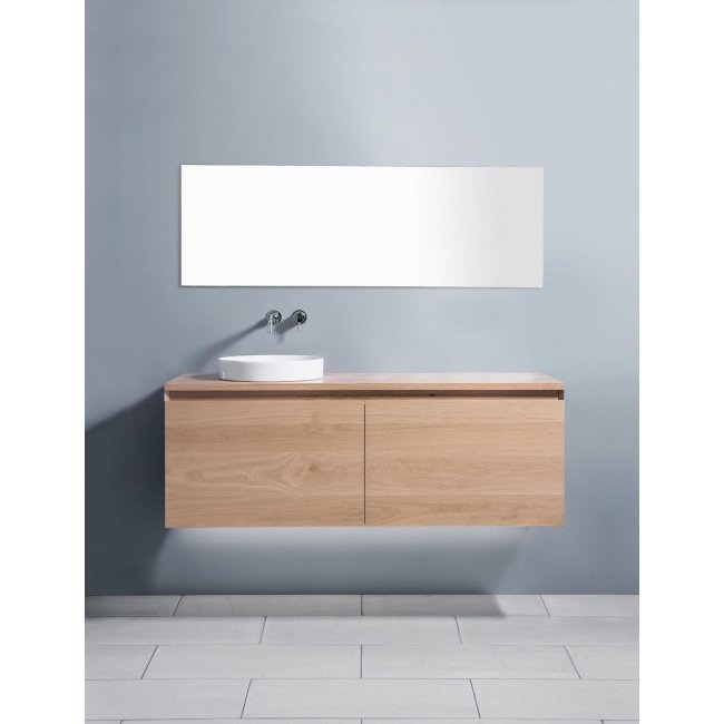 Zero 1500 Wall-Hung Vanity, 2 Drawers (Side-by-Side) + 2 Concealed Drawers