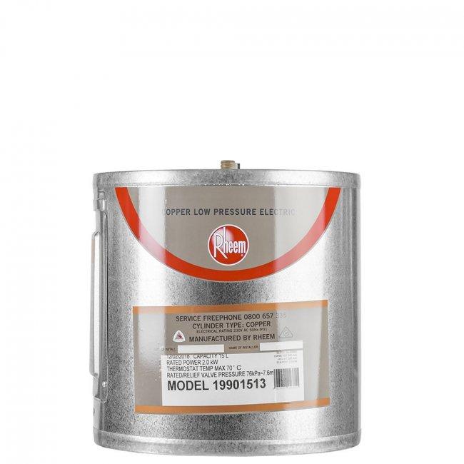 Rheem 15l Low Pressure Copper Underbench Electric Water Heater