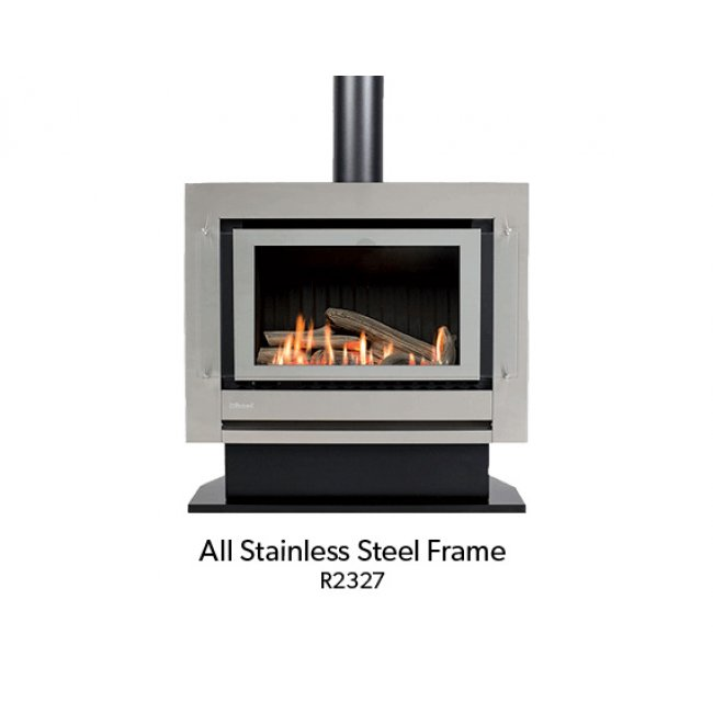 Neo Freestander Gas Fire with Simple Remote - Console or Plinth